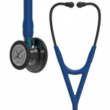 3M Littmann Cardiology IV : Navy Blue, Polished Smoke - Blue Stem