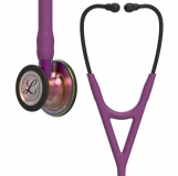 3M Littmann Cardiology IV : Plum, Rainbow Finish  - Violet Stem