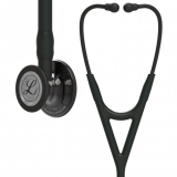3M Littmann Cardiology IV : Black, Smoke Finish - Black Stem