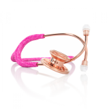 MDF 777 MD One® Fairy Pink Glitter Rose Gold Stethoscope - Limited Edition MPrin
